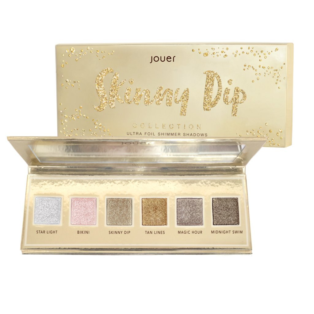 Skinny Dip Collection Ultra Foil Shimmer Shadows By JOUER Cosmetics