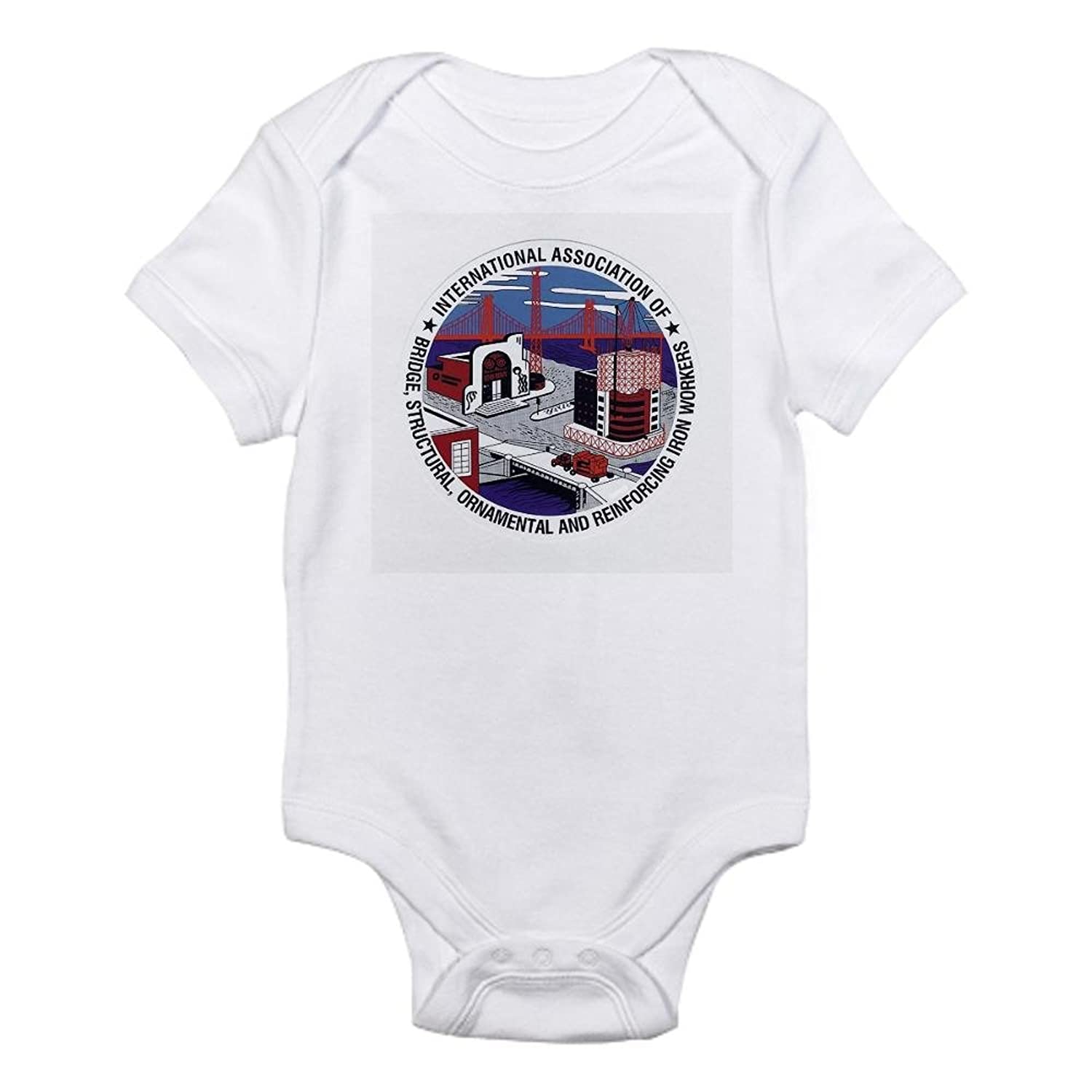Amazon CafePress Ironworker Patch Infant Creeper Cute