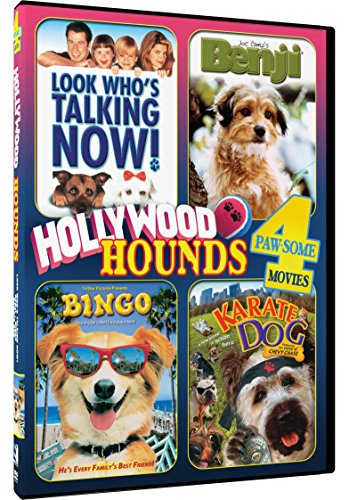 Hollywood Hounds - 4 Paw-some Movies! Look Who's Talking Now, Benji, Bingo and Karate Dog