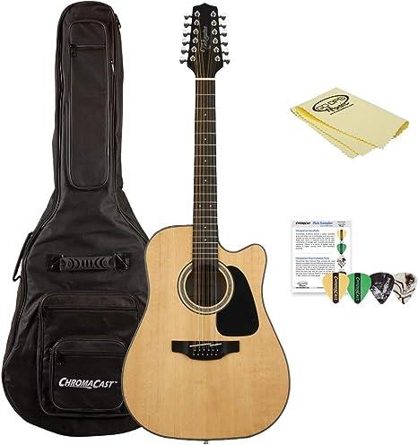 TAKAMINE gd30ce-12 nat-kit-1 Dreadnought Cutaway Guitarra ...