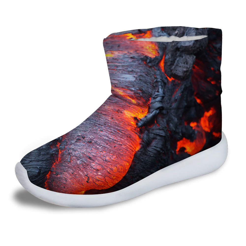 FOR U DESIGNS Cool Warm Short Ankle Boots Shoes for Young Boy Warm US 3