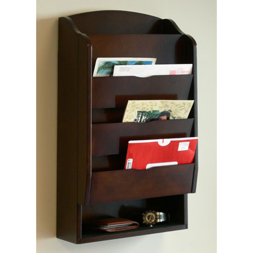 Superb Amazon.com: Door Entry Organizer With Mail Sorter In Mahogany: Kitchen U0026  Dining
