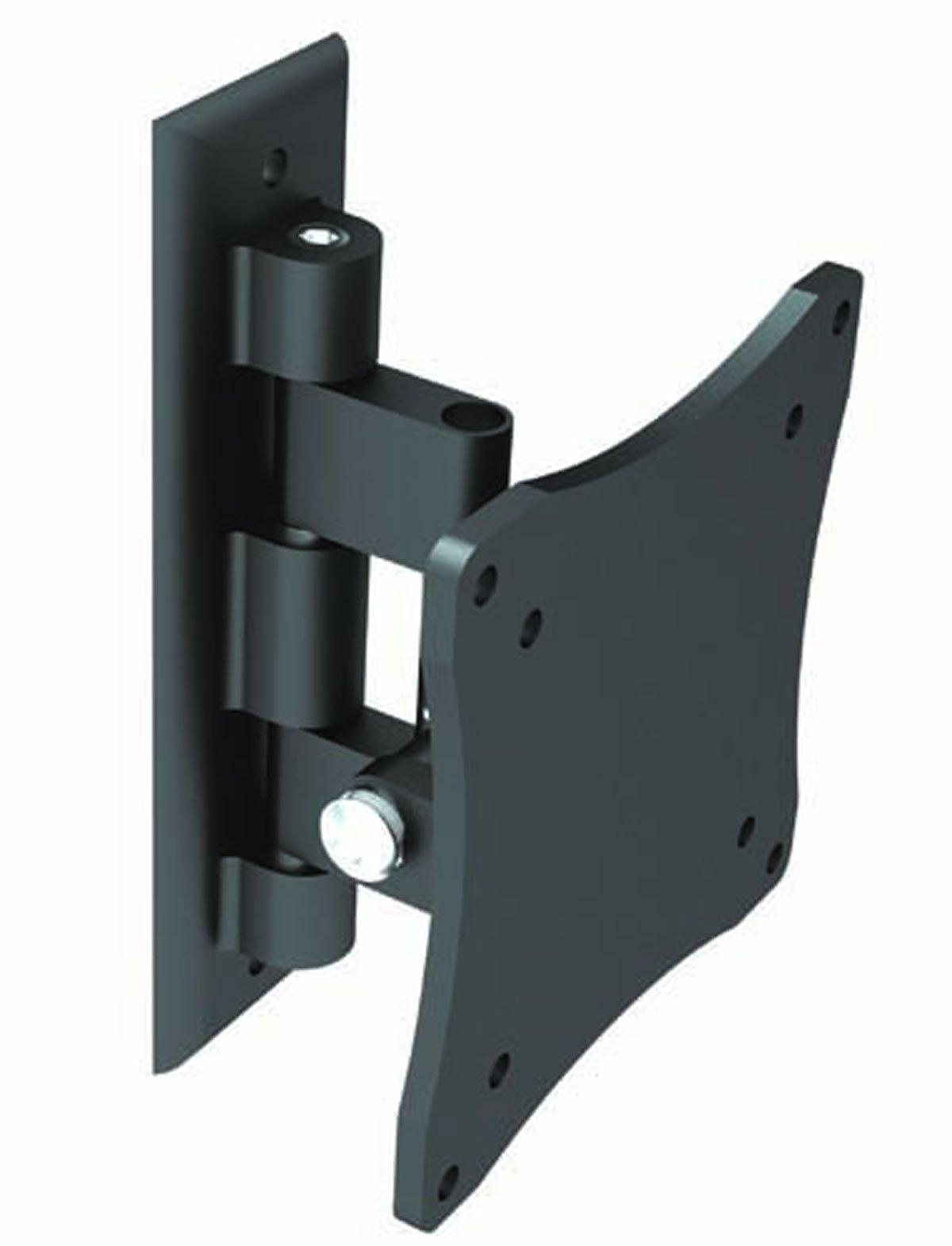 Black Full-Motion Tilt/Swivel Wall Mount Bracket for LG 29UM65-P 29'' inch LED Monitor - Articulating/Tilting/Swiveling