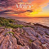 Maine Wild & Scenic 2020 7 x 7 Inch Monthly Mini Wall Calendar, USA United States of America Northeast State Nature (English, Spanish and French Edition)