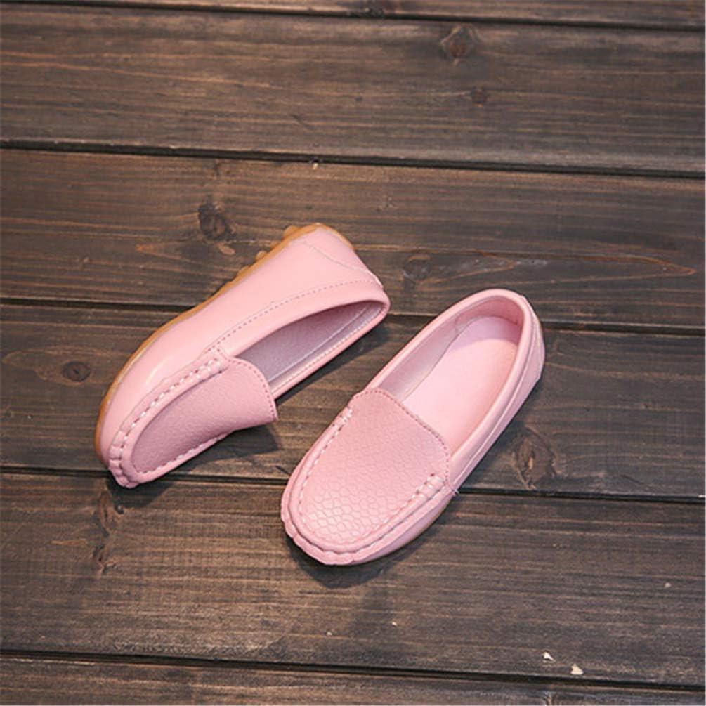 Toddlers Chaussures pour Gar/çons Filles Enfants Chaussures D/écontract/ées Enfants Soft Slip-on Chaussures Mocassins Chaussures pour Tout-Petits Prem