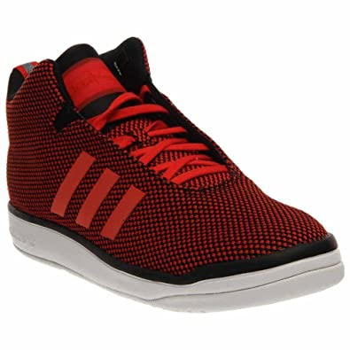 adidas Originals Mens Veritas Mid Red/White Sneaker 8 M
