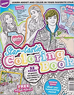 Girls World Star-Tastic Coloring Book: Amazon.com: Books