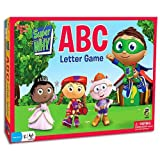 super why alphabet - Super Why ABC Letter Game - Comes with Bonus Pop Toob!