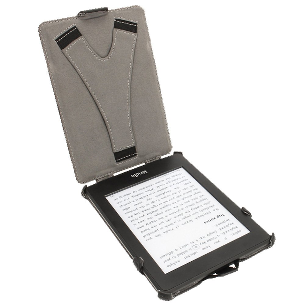 iGadgitz U2180- Funda Heat Molded Eco-Piel para Amazon Kindle PaperWhite 3G 6