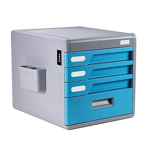 KSW_KKW Archivadores Tipo de cajón Oficina 4 Capas Bloqueo ...