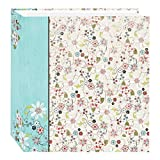 Pioneer Photo Albums TR-100D/BFE Magnetic 3-Ring 100 Page Photo Album, Bold Flower Explosion Design