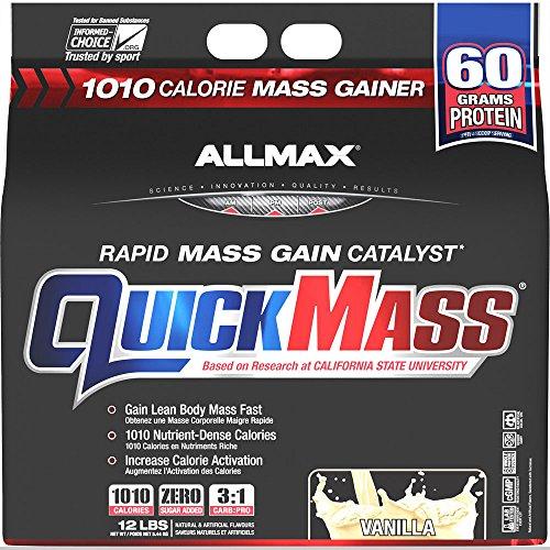 Quick Gainer - Allmax Quickmass Loaded Vanilla - 12 lbs