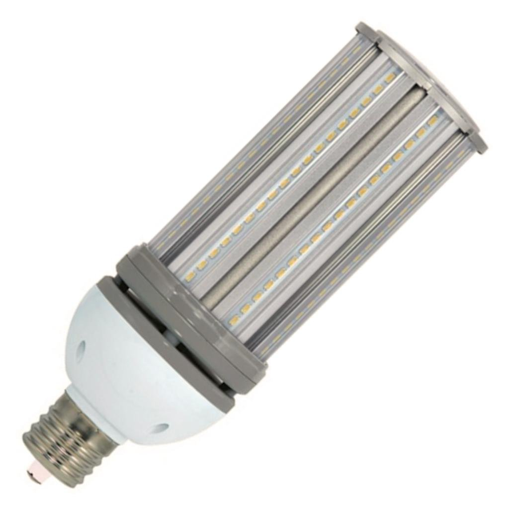 (6-Pack) Satco S9394 - 54W/LED/HID/5000K/100-277V 54W 5000K Mogul Extended EX39 Base 250W HID Replacement LED Light Bulb