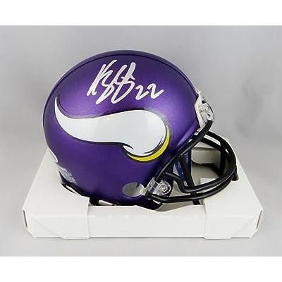 Harrison Smith Autographed Minn Vikings Mini Helmet - Beckett W Auth Silver ae4aed346