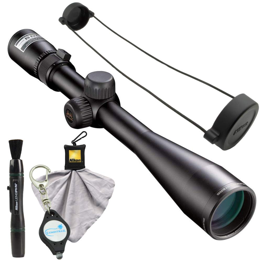 Nikon Buckmasters II Scope 4-12x40mm BDC Bundle Lens Pen, Cleaning Cloth and Lumintrail Keychain Light by Nikon