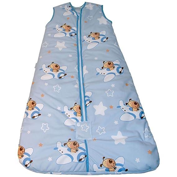 Pekebaby Saco de dormir bebé AVIONETA 2.5 tog: Amazon.es: Ropa y accesorios