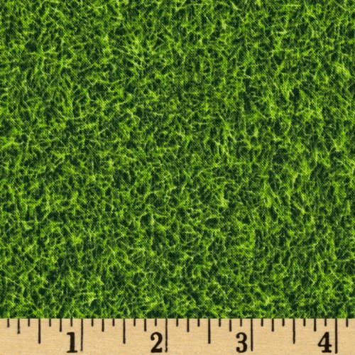Robert Kaufman Kaufman Sports Life Turf Grass Fabric by The Yard