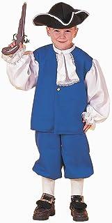 Pilgrim Colonial Boy Kids Costume  sc 1 st  Amazon.com & Amazon.com: Forum Novelties Colonial Girl Costume Childu0027s Small ...