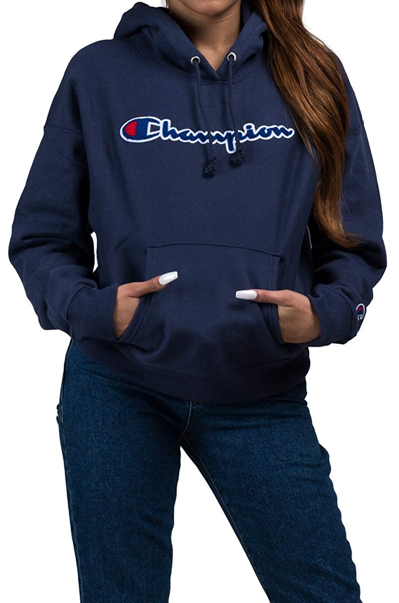 Champion Life Womens Reverse Weave Pullover Hood