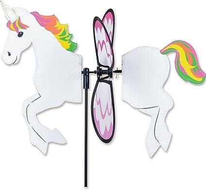 "Unicorn Windspinner 18/"" unicorn garden spinner"