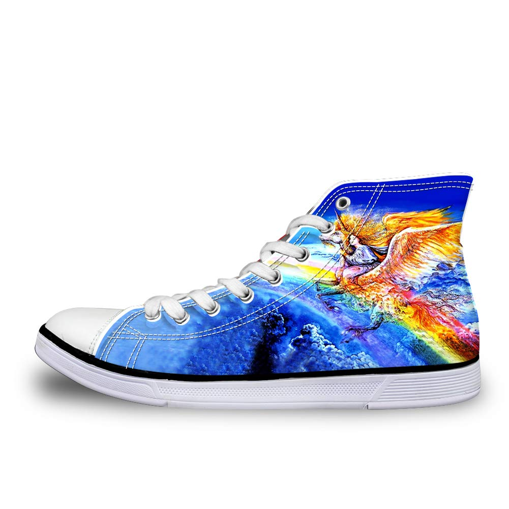 8d1f08110acc8 Amazon.com | Canvas High Top Sneaker Casual Skate Shoe Mens Womens ...