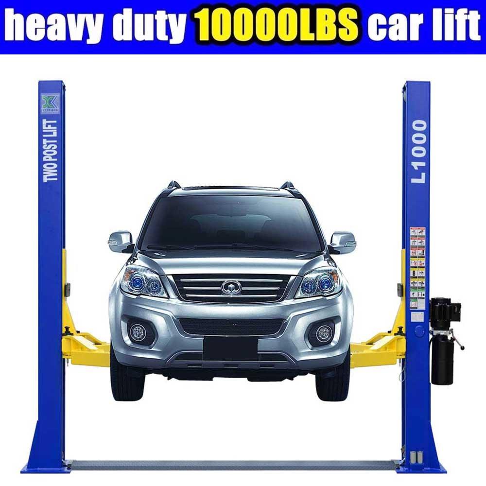 L1000 10,000LBS Two Post Lift Car Auto Truck Hoist / 12 Month Warranty