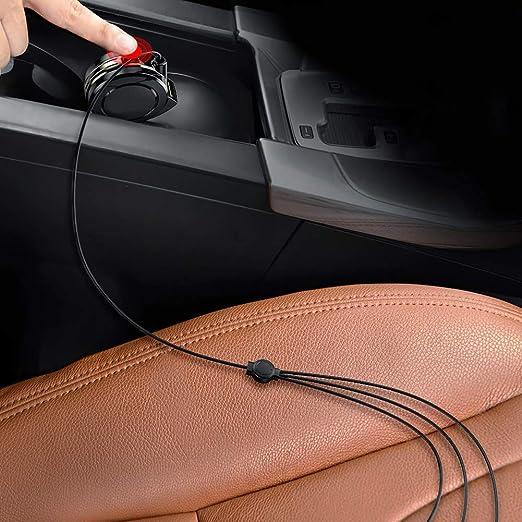 Xiegons0 USB Retráctil Cable de Carga, Coche Múltiple 3 IN 1 ...