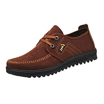e5c32e9d3ea Zapatos planos con correa para hombre