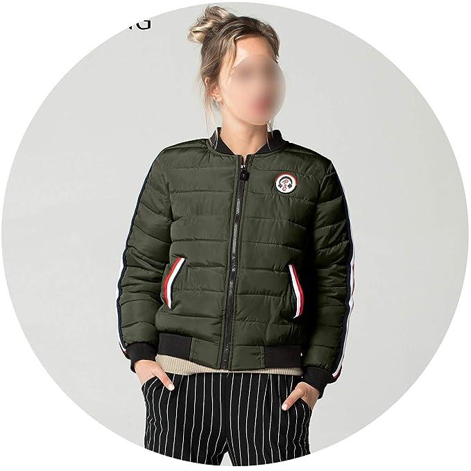 Warm Women 5 Colors Down Parkas Cotton Padded Jacket Girls ...