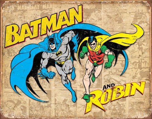 4SGM TSN1826 Batman & Robin