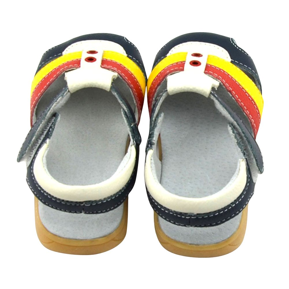 Toddler Tortor 1Bacha Baby Girls Boys Fashion Leather Closed Toe Sandals