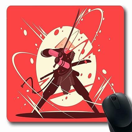 Alfombras de Dibujo Lucha de Combate Samurai Katana ...