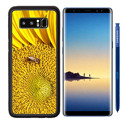 MSD Premium Samsung Galaxy Note8 Aluminum Backplate Bumper Snap Case Image ID 24580439 Beautiful close up photo of big yellow - Black Culos Big