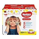 Huggies Simply Clean Fragrance-free Baby Wipes, Soft Pack 6 Pack, 384 Count