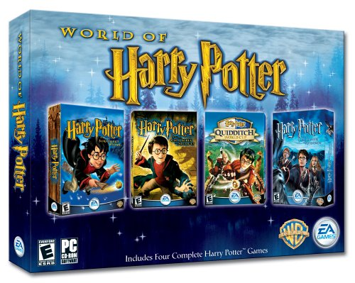 The World of Harry Potter (Sorcerer's Stone / Chamber Of Secrets / Prisoner Of Azkaban / Quidditch World Cup) (Harry Potter And The Sorcerers Stone Rom)