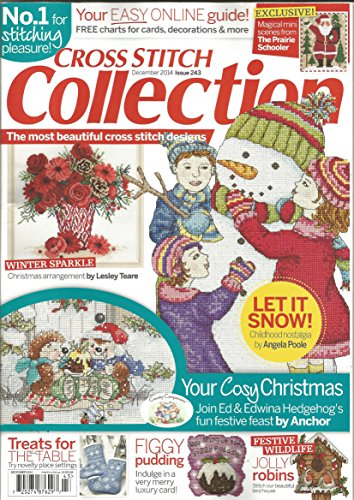 Cross Stitch Collection Magazine - Cross Stitch Collection Magazine (December 2014, Issue 243)