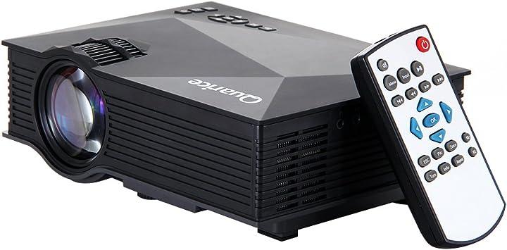 Proyector con WIFI Quarice® LED Proyector WIFI Portátil Mini UC46 ...