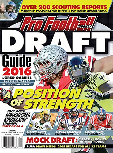(Pro Football Weekly 2016 Draft Guide)