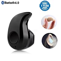 Kanish Sales Mini Wireless Bluetooth Stereo In-Ear Earphone Headphone Headset Earpiece with premium quality charging cable
