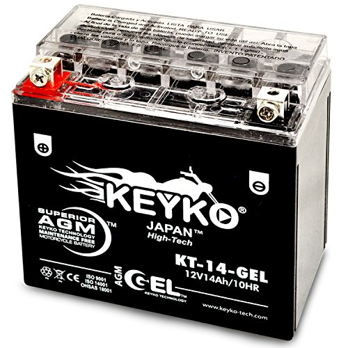 Honda 1500cc valkyrie 1500 1997 2003 battery ytx14 bs for Honda battery cost