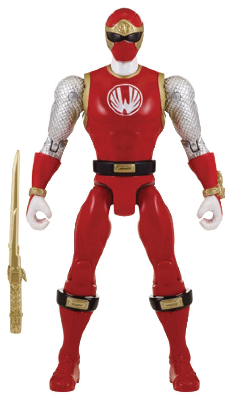 "diseños exclusivos Power Rangers Super Megaforce Megaforce Megaforce - 5"" Ninja Storm Red Ranger Action Hero  100% autentico"