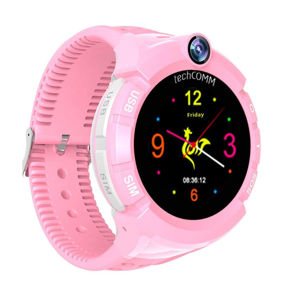 Amazon.com: techcomm S02 GSM desbloqueado Kids SmartWatch ...