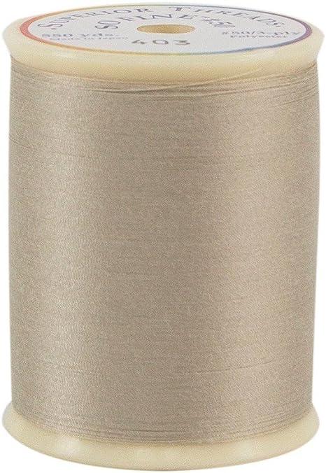 550 yd Superior Threads 11601A-402 So Fine Pearl 3-Ply 50W Polyester Thread