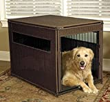 Orvis Wicker Dog Crate, Brown, Small For Sale