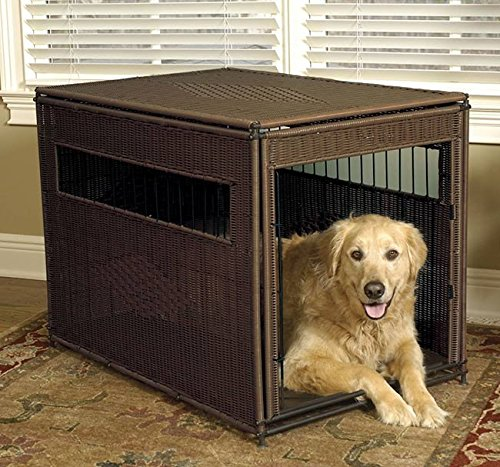 Orvis Wicker Dog Crate/Wicker Crate, XL