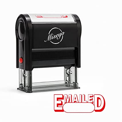 Miseyo Emailed Self Inking Rubber Stamp