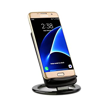 Lenuo Cargador inalámbrico Qi para iPhone Samsung Smartphone ...