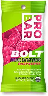 product image for ProBar Bolt Organic Energy Chews Gluten Free Raspberry - 12 Pouches