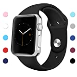 Amazon Price History for:Sport Band for Apple Watch 42mm 38mm, Soft Silicone Sport Strap Replacement iWatch Bands for Apple Watch Series 3, Series 2, Series 1 S/M M/L