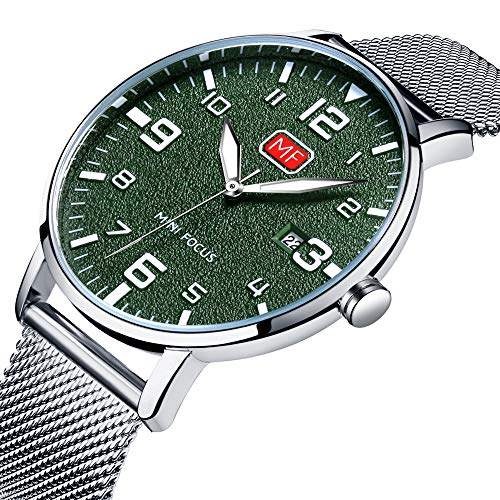 Oval wristwatch for men